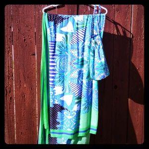 Colorful beautiful Stella & dot scarf